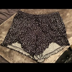 Super cute Bebe Satin shorts.